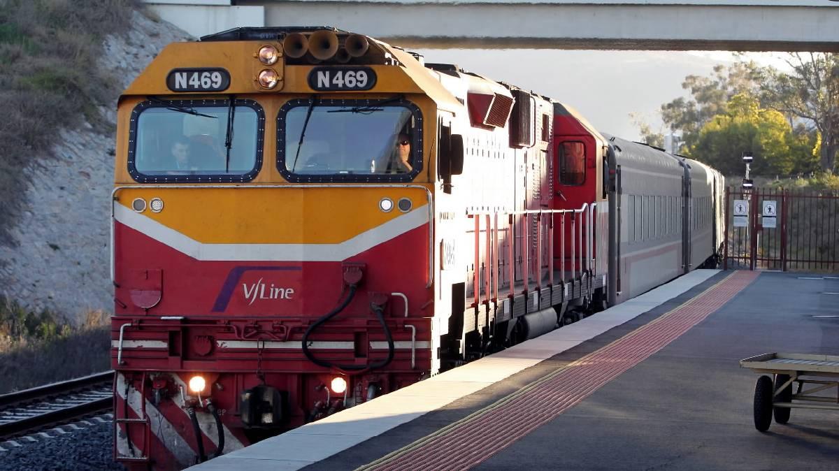 vline-wodonga-station