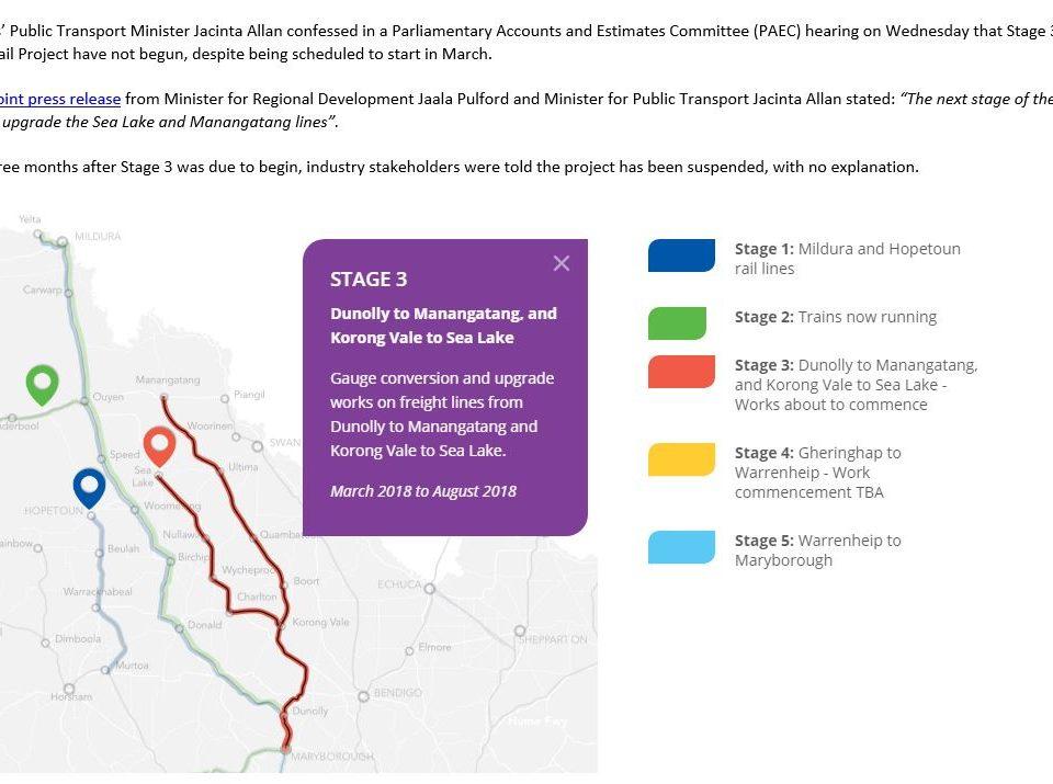 Murray Basin Rail transformation in tatters under Labor