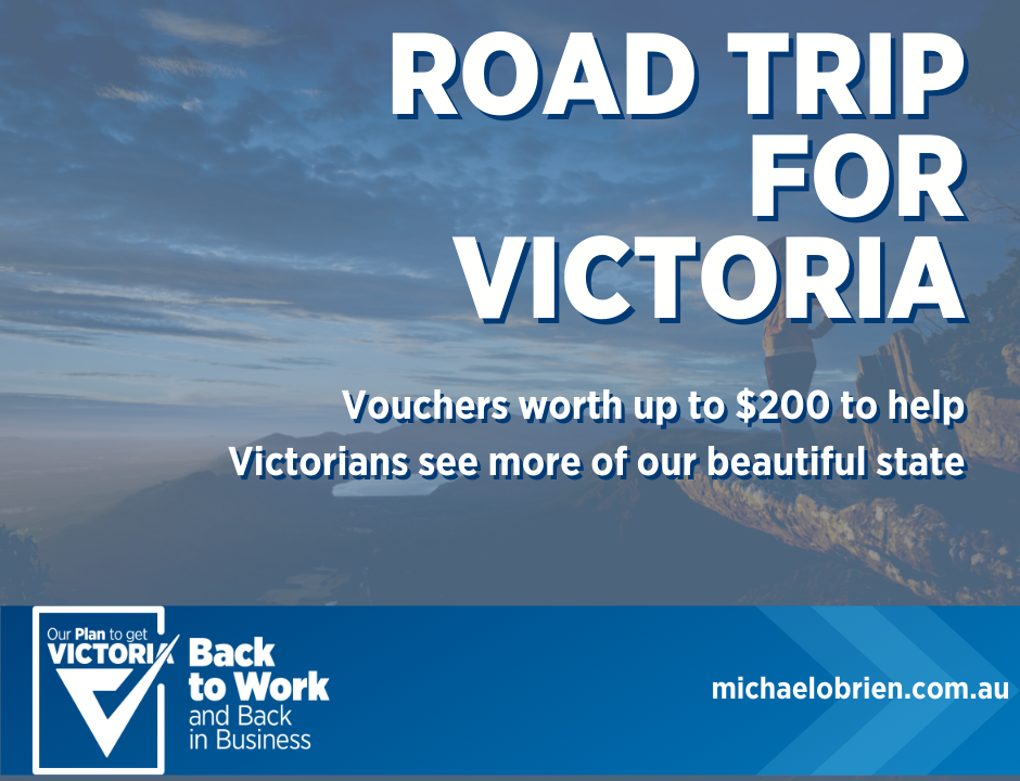 Victoria must become the place to holiday