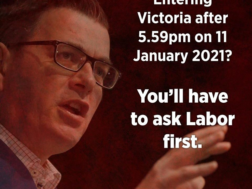 Stranded Victorians letdown by Andrews' permit failure