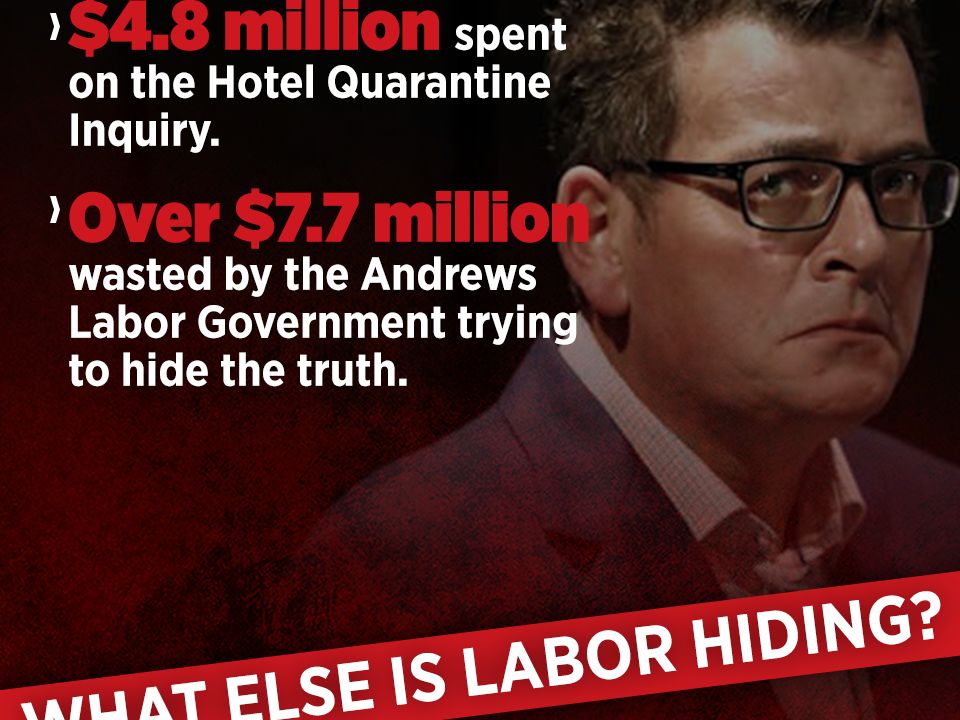Andrews paid millions to lawyers to hide facts around Hotel Quarantine bungle | Bill Tilley