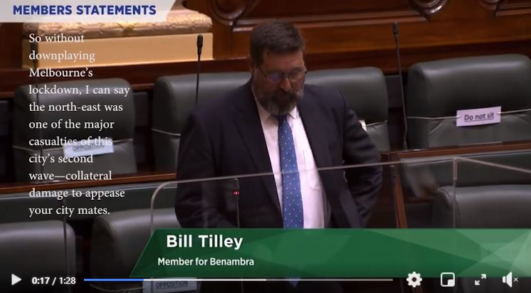 Well done Benambra | Bill Tilley